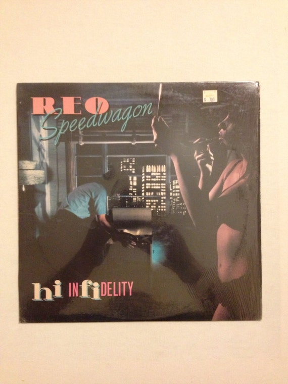reo speedwagon hi infidelity lp record on epic. Black Bedroom Furniture Sets. Home Design Ideas
