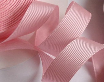 10 yards 3/4 inches Grasgrain Ribbon in Pink RG-34-12