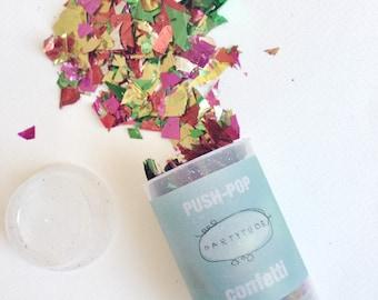 Coriandoli Push-pop / Push-pop Confetti