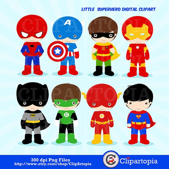 superhero clipart free download - photo #24