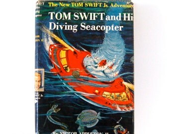 Vintage Sci Fi from the 1950's, Tom Swift and His Diving Seacopter