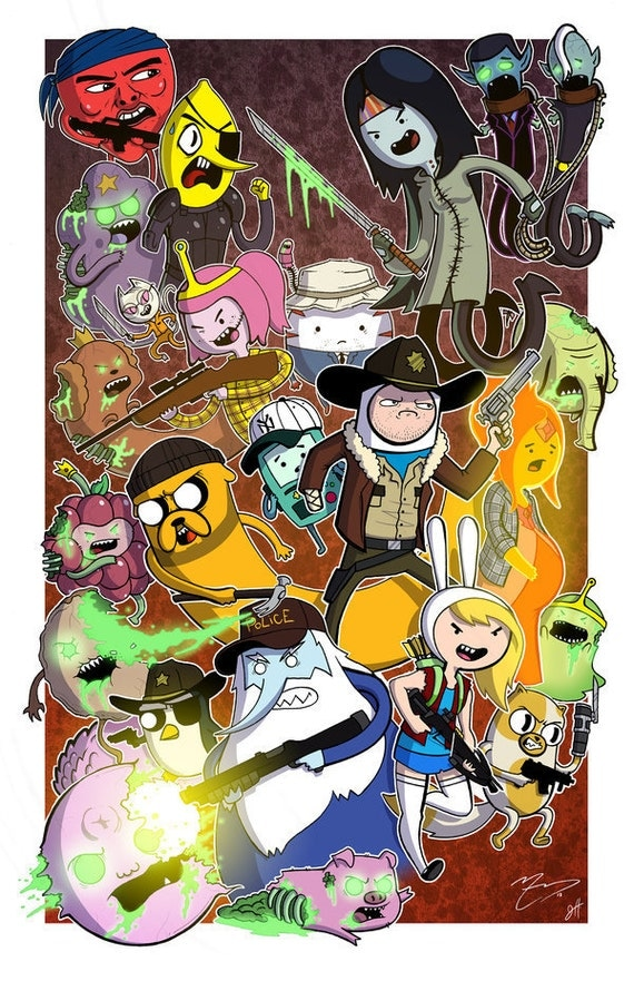 Deadventure Time The Walking Dead amp Adventure By
