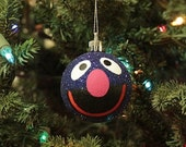 Grover Hand Painted Christmas Ornament