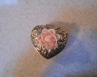 shell flower jewelry box
