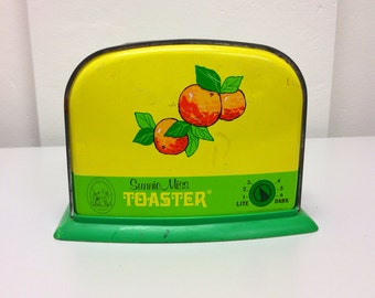 20% OFF Vintage toy toaster-Sunny MIss Toaster