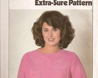 1978 Simplicity ESP Pattern 8428 Ladies Blouse