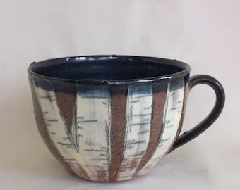 White Birch Teacup