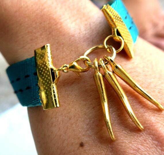 Charm Bracelet, handmade jewellery, rope bracelet