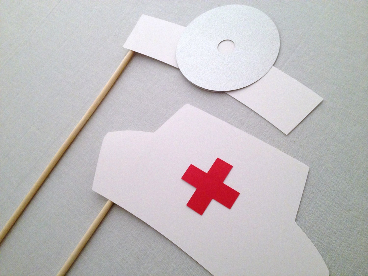 doctor and nurse photo booth prop set nursing photo booth