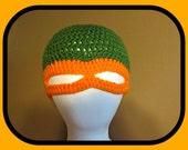 Teenage Mutant Ninja Turtle INSPIRED Hat PATTERN ONLY! Leonardo Donatello Michelangelo Raphael