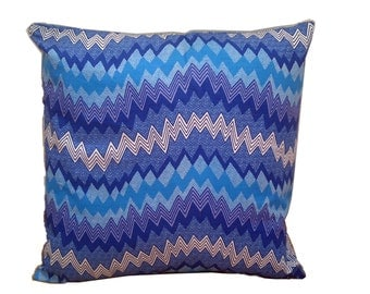African Pillow Cover, Back To School, Dorm Room Decor, Geeky Geometric Pillow, Ankara Cushion, 18x18 cushion cover, Detola And Geek
