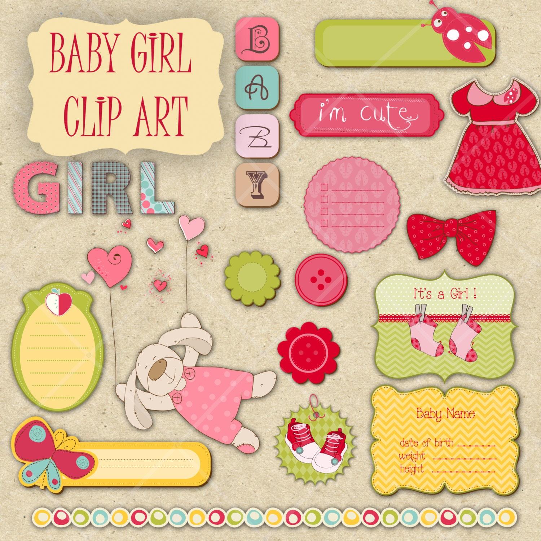free baby scrapbook clipart - photo #44