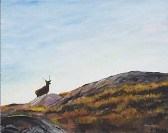 Scottish Landscape Painting Fine Art Giclee Print Scottish Artist