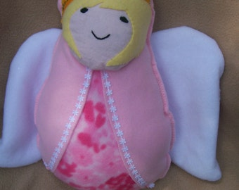 Soft Stuffed Guardian Angel Plush Doll