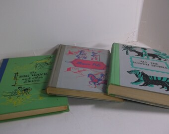 Vintage Childrens Books - 1950s