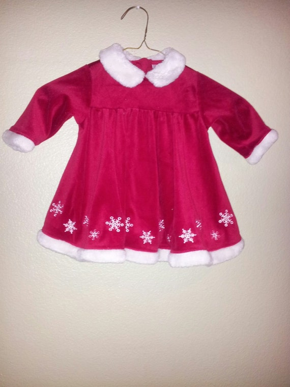 Christmas Dress Size 9 Months