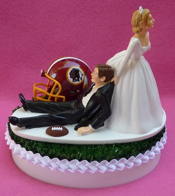 Redskins Cake Topper