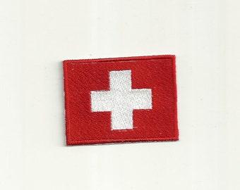 Swiss Flag Patch! Custom Made! F27