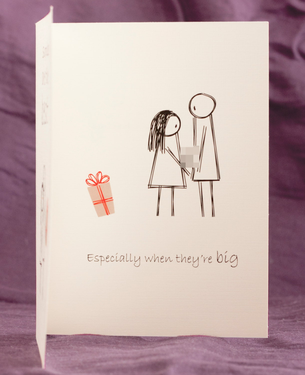 funny mature adult dirty naughty cute love greeting card for, Birthday card