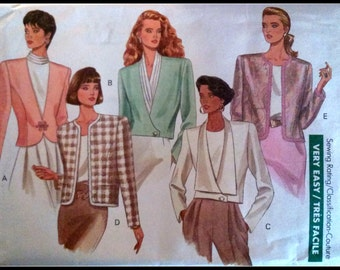 Butterick  4474  Misses' Jacket  size  (18-22)  Uncut