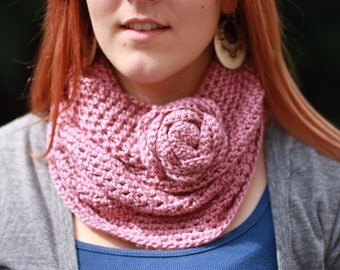 The Rose Infinity Scarf