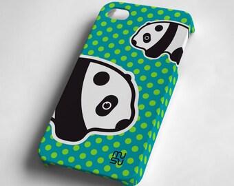 Panda - iPhone 4 4S Case - IP4 IP4S Cover - Plastic iPhone4 Case