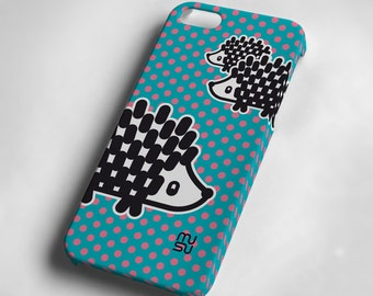 Hedgehog - iPhone 5 Case - iPhone 5 Cover - Plastic IP5 Case