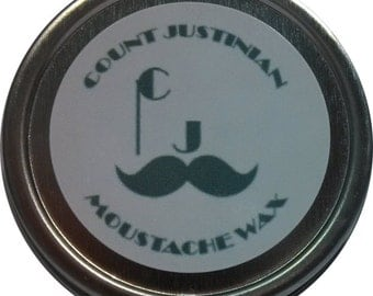 Count Justinian Moustache Wax - Empire Collection (Pine Needle)