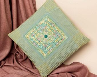INSTRUCTION SHEET for canvas work (needlepoint) cushion panel