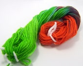 Hand Dyed Sock Weight Mini Skein - AMAZON