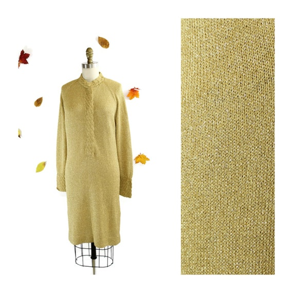 Gold Lame Sweater 121