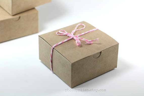 Michaels Brown Favor Boxes : Gift box brown jewelry boxes kraft paper