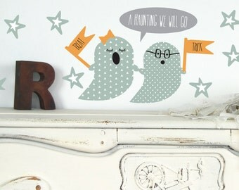 Ghost Wall Decals - Halloween Wall Decals