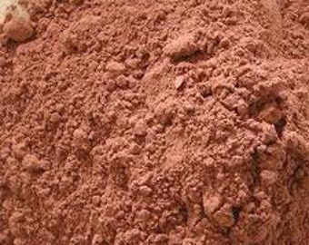 Red Clay Powder 16 Oz Morrocan  Great For Soaps Or Herbal Compounds Etc