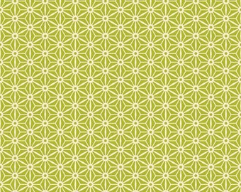 Riley Blake Sidewalks Fabric Green