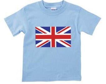 Funny Toddler T- Shirt funny kids shirt cute toddler shirt UNION JACK shirt british toddler shirt