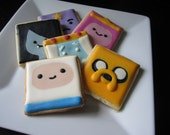 Adventure Time Cookies with Royal Icing