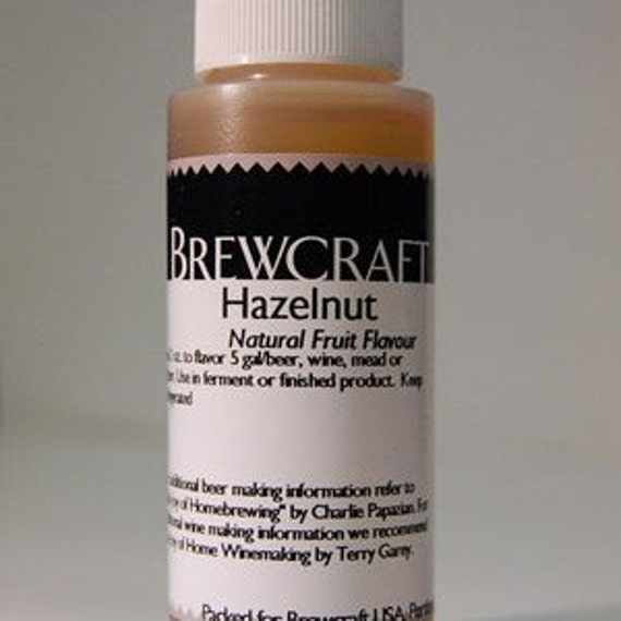 Hazelnut Natural Flavoring For  Home Wine Making Beer Making 2 Ounces