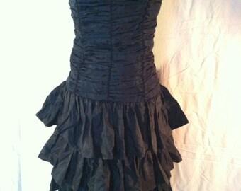 Vintage short black Avon Fashions dress