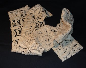 Antique Irish Lace Sewing Notions Trim