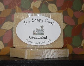 Goat's Milk Soap 3 oz. -- Unscented