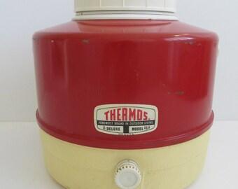 Thermos Pinic Jug, Thermos Water Jug, Thermos, Camping, Glamping, Vintage RVs, Travel Trailers, RVs