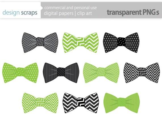 bow tie clip art graphics, baby boy ties digital clipart, polka dots ...