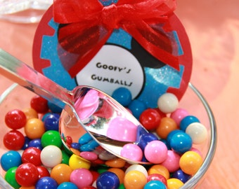 Mickey Mouse Clubhouse Candy Table Jar Tags and or Labels
