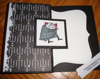 Stampin Up Halloween Cape