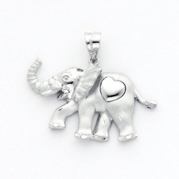 Elefanten schmuck silber
