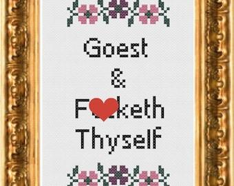 PDF Pattern - Goest and F-cketh Thyself