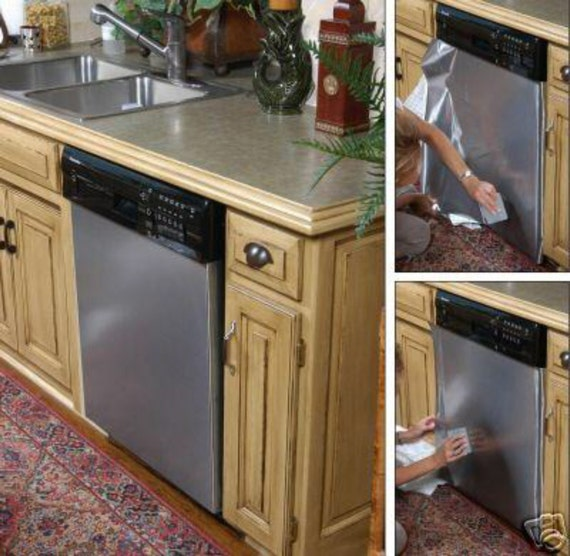 Instant Stainless Counter : Update kitchen instant diy stainless steel by ezfauxfinishings