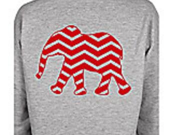 Chevron Elephant Sweatshirt