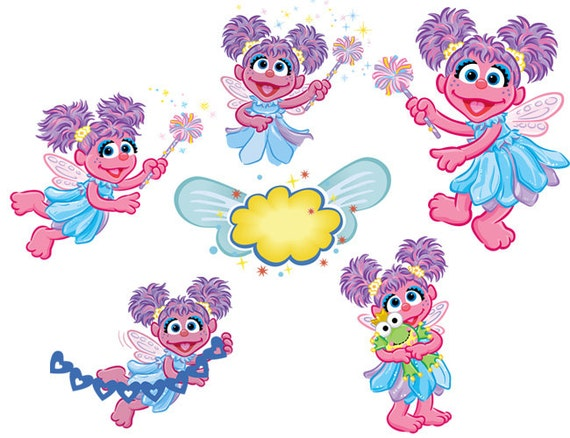 This is a picture of Hilaire Abby Cadabby Clipart